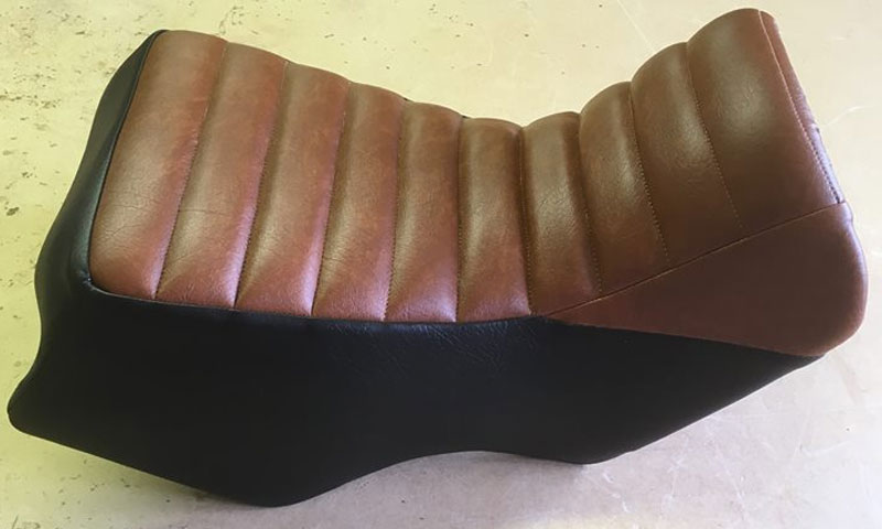 Motorcycle Upholsterers in Sudbury, Suffolk, Coverite Upholstery